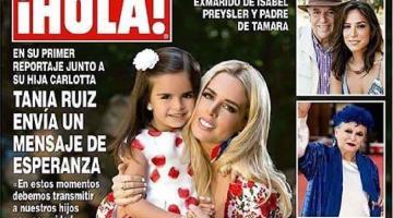 Tania Ruiz, pareja de Peña Nieto, asegura que es momento para transmitir paz