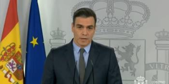 Anuncia gobierno de España que trabajadores de actividades no esenciales deberán quedarse en casa