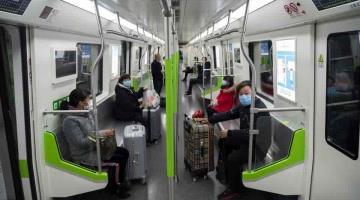 Reanuda Wuhan servicio del metro, tras dos meses de suspensión por pandemia
