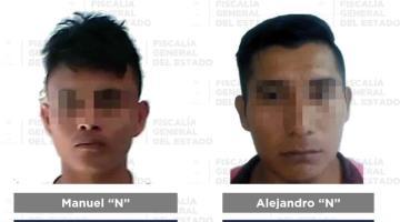 Reporta FGE detención de cinco personas por diversos delitos