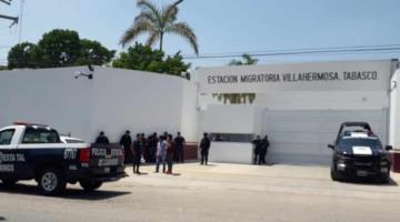 Centroamericanos en estación migratoria de Ciudad Industrial exigen ser repatriados