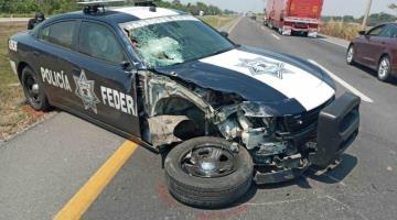 Patrulla de la Policía Federal arrolla y mata a motociclista