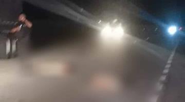 Muere hombre que impactó su moto contra un auto en la carretera Ciudad del Carmen-Isla Aguada