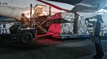 Dona China 50 mil kits de pruebas para Covid-19 a México
