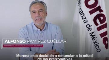 Morena pide a partidos y Congresos donar parte de sus recursos para fortalecer el sistema de salud