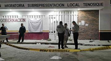Llama ONU a aclarar muerte de migrante en estación migratoria de Tenosique