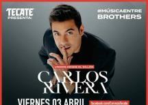 Carlos Rivera en concierto... desde el sillón
