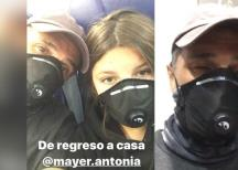 Sergio Mayer al rescate de su hija quien estaba en Estados Unidos