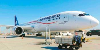 Pilotos de Aeroméxico apoyan a la empresa, aportando 50% de sus salarios, ante contingencia