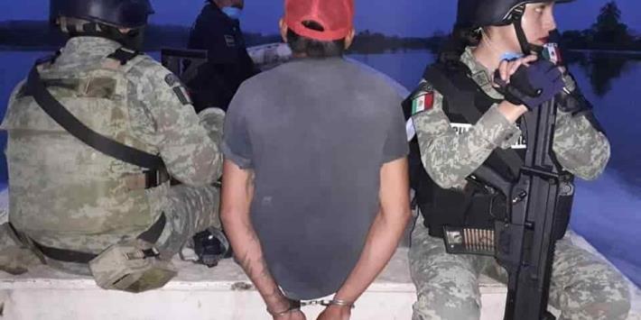 Detienen a presuntos cazadores furtivos en Balancán