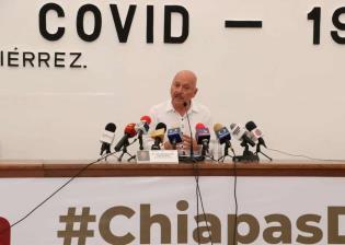 Aumenta a 19 casos de Covid-19 en Chiapas