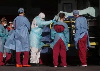 Reino Unido registra por primera vez más de 700 muertos por Covid-19 en 24 horas