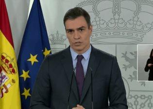 Anuncia gobierno español nueva prórroga del estado de alarma en el país
