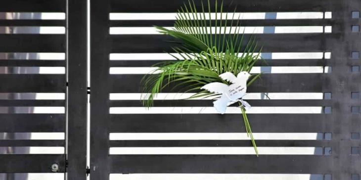 #Fotogalería Colocan tabasqueños ramos en sus casas para celebración religiosa