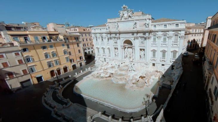 La belleza de la Fontana di Trevi, vista desde todos los ángulos