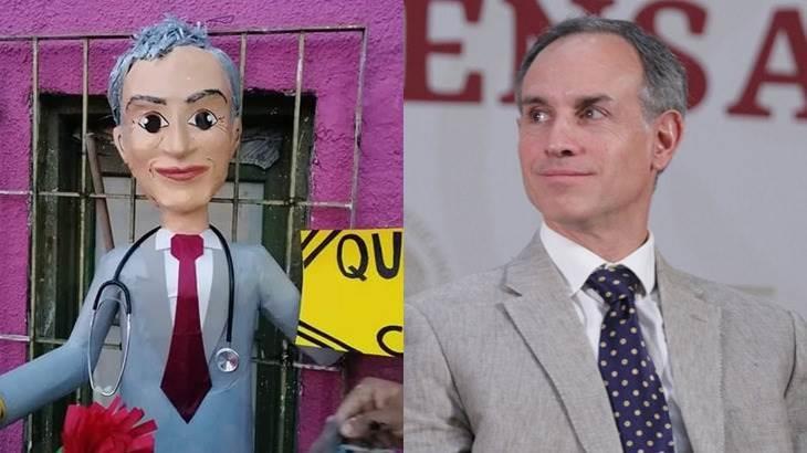 El domador del coronavirus, crean piñatas de Hugo López - Gatell
