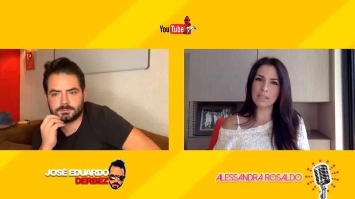 José Eduardo Derbez cuenta como fue el primer encuentro entre Victoria Ruffo y Alessandra Rosaldo