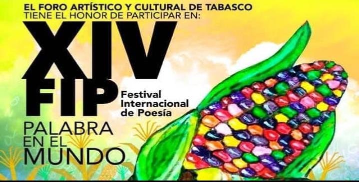 Participarán Tabasqueños vía virtual en XIV Festival Internacional de Poesía