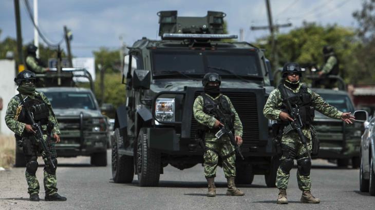 Entra en vigor acuerdo que faculta al Ejército y la Marina a realizar tareas de seguridad pública