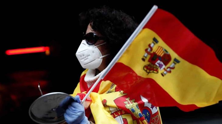 Registra España la cifra más baja en dos meses en muertos por COVID-19; fueron 87