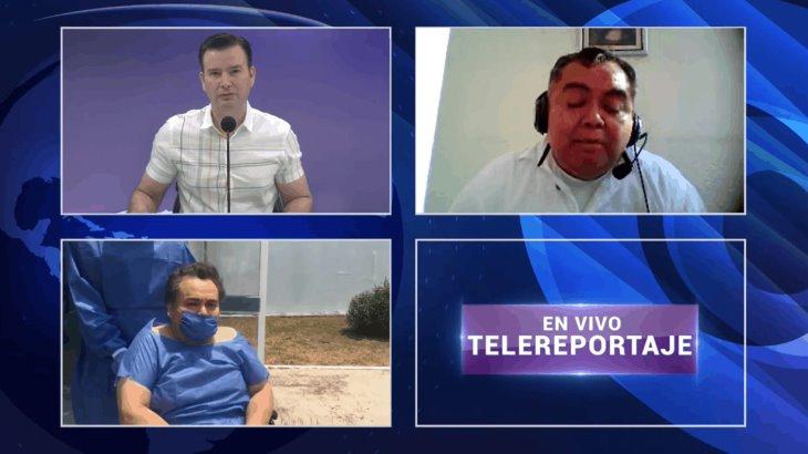 """""""Quedarse en casa no es una pesadilla; no se compara con lo que se vive en el hospital"""": Pepe Chablé"""