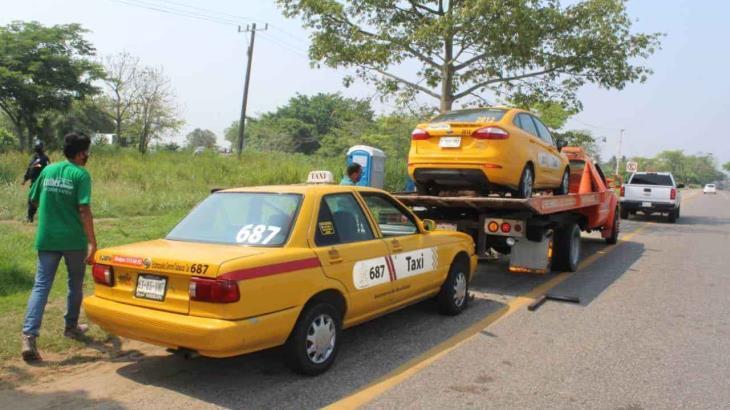 Aseguran tres unidades de transporte Público; no cumplieron el decreto gubernamental