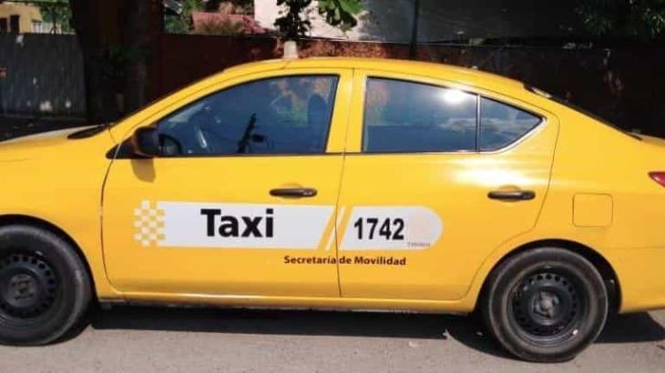 Detienen a taxista en un filtro sanitario por carecer de documentación