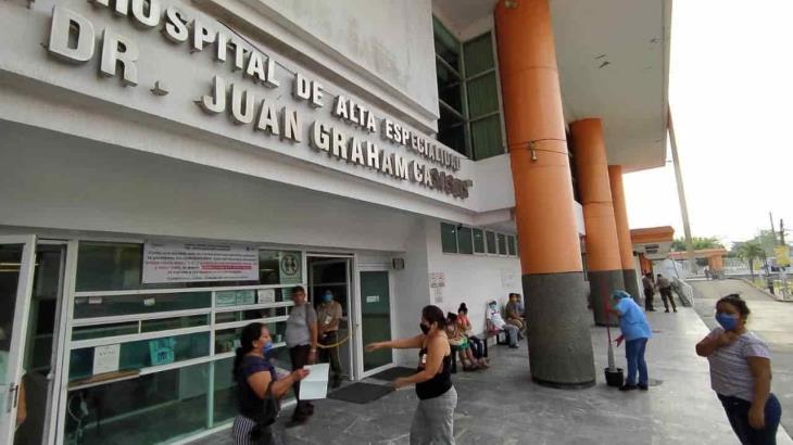 Aumentan en Tabasco hospitalizaciones por complicaciones respiratorias relacionadas con covid-19
