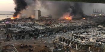 Reportan más de 85 mil edificios dañados en Beirut tras explosión