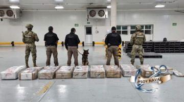 Asegura SEMAR 678 kilos de cocaína en puerto de Manzanillo