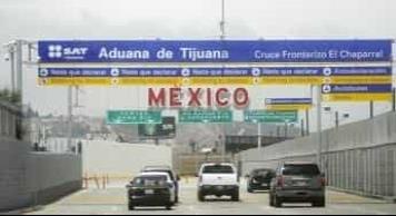 Extienden restricciones en tránsito no esencial en la frontera México-EU