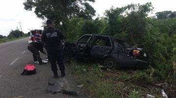 Accidente en la Villahermosa-Frontera deja tres lesionados