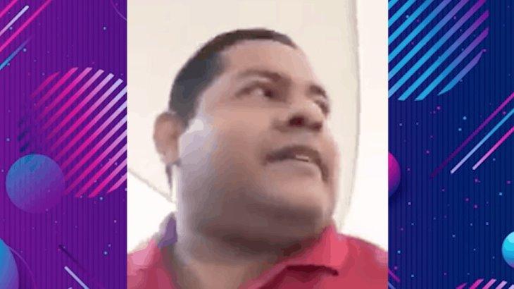 """Yo mando en mi cuerpo"" dice sujeto que se resiste a usar cubrebocas dentro de plaza comercial"