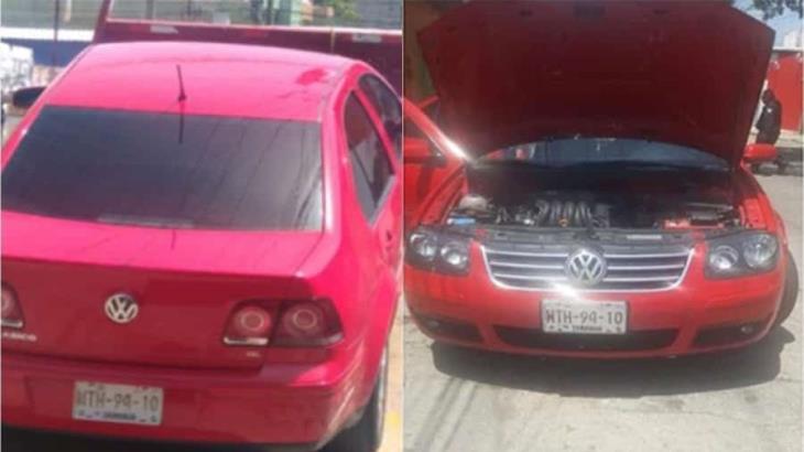 Mujer compra auto por internet y resulta con reporte de robo; la detienen