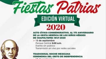 Cárdenas, Jalpa de Méndez y Tacotalpa anuncian festejos patrios de manera virtual