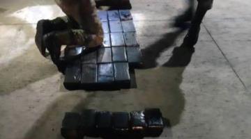 Asegura SEDENA a 4 personas por transportar 60 kg de cocaína en Tamaulipas