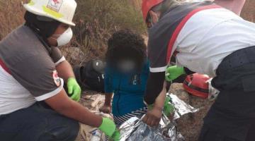 Rescatan a tres migrantes con hipotermia en Tecate, cerca de la frontera con Estados Unidos