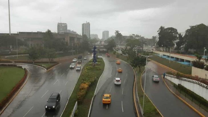 Esperan lluvias de moderadas a fuertes durante esta semana en Tabasco