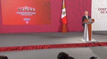 """""""Amor y paz"""", ofrece AMLO a EU, tras reclamo sobre combate a las drogas"""