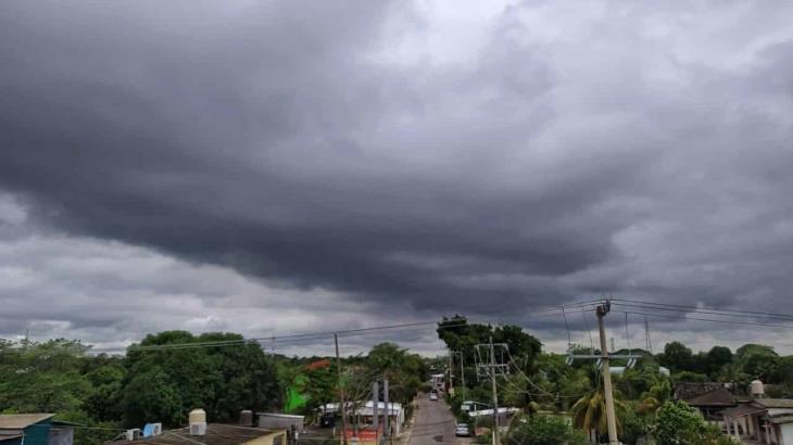 Pronostican tormentas fuertes dispersas en Tabasco para hoy viernes