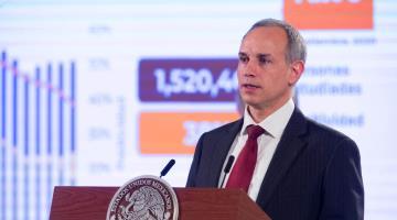 Yo no me meto en política, reitera Hugo López-Gatell tras denuncia interpuesta por senadores del PAN