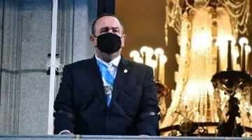 Da positivo a coronavirus presidente de Guatemala, Alejandro Giammattei