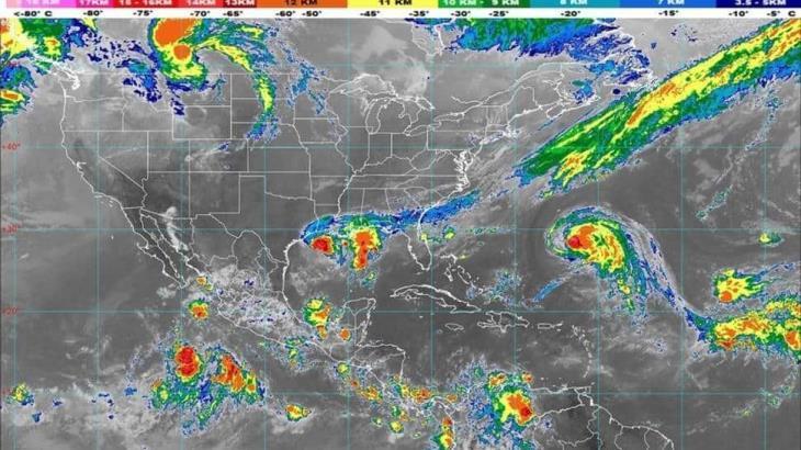 Baja potencial de lluvias en Tabasco, de torrenciales a fuertes, informa Protección Civil Estatal