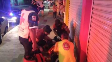 Hospitalizan a hombre tras ser asaltado y lesionado con arma blanca en el Centro de Cárdenas