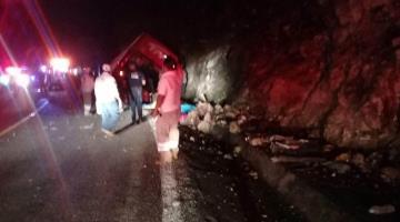 Un accidente de autobús deja 12 muertos y 10 heridos en Chiapas