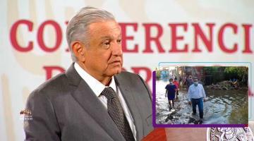 Sugiere AMLO a Evaristo pedir ayuda a Adán para evitar supuesta privatización del alumbrado público