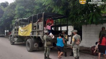 Evacúan más de 39 mil personas en Quintana Roo y Yucatán por Delta; no se reportan decesos
