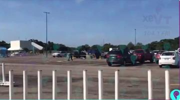 Se accidenta helicóptero de la Marina en aeropuerto de Villahermosa