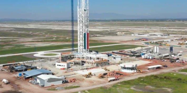 Aeropuerto ´General Felipe Ángeles´ registra avance del 40 por ciento