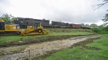 Reconoce enlace territorial de Tren Maya que pandemia ´ralentizó´ trabajos de construcción del Tramo 1